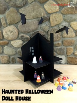 {DIY} Haunted Halloween Doll House