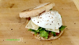 Easy Poached Egg Breakfast Sandwich